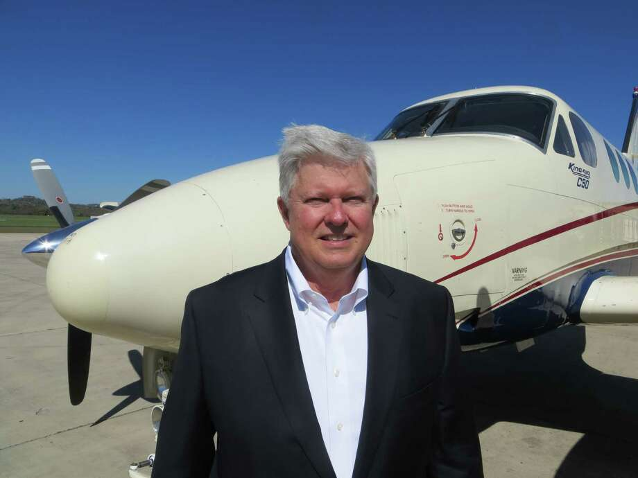 Bruce McKenzie, manager of the Kerrville-Kerr County Airport, has been named the general aviation airport manager of the year for 2016 by the Texas Department of Transportation's aviation division. Photo: Zeke MacCormack