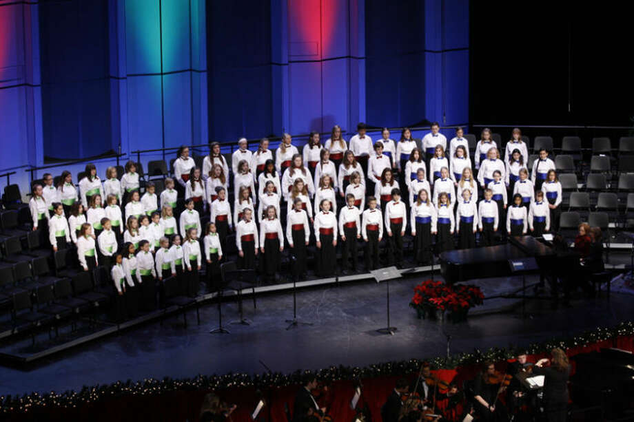 Photo providedThe Center Stage Youth Choirs anniversary recognition and spring concert of more than 100 voices will take place at 7 p.m. on Tuesday at the Midland Center for the Arts Auditorium.