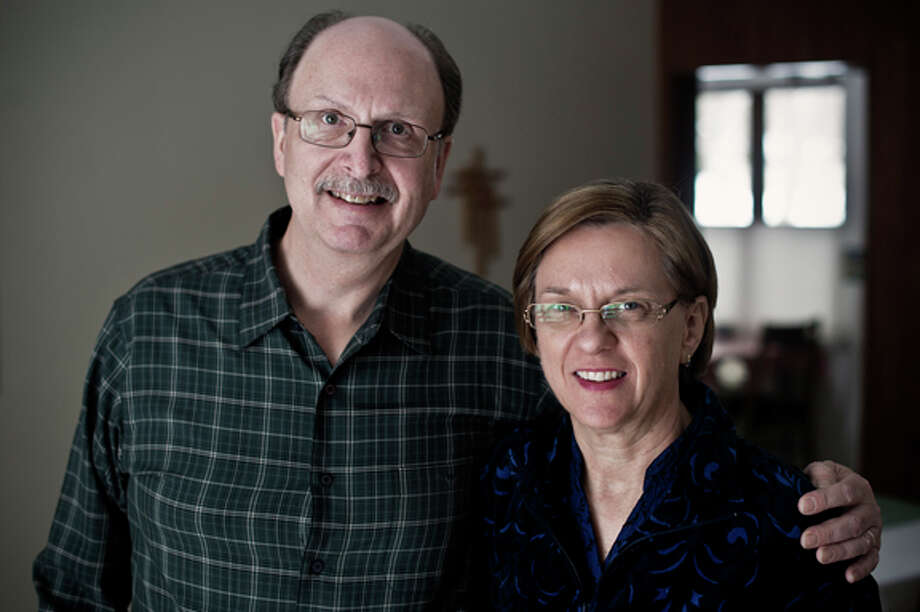 Art and Crystal Prunier, of Midland Photo: Sean Proctor/Midland  Daily News / Midland Daily News