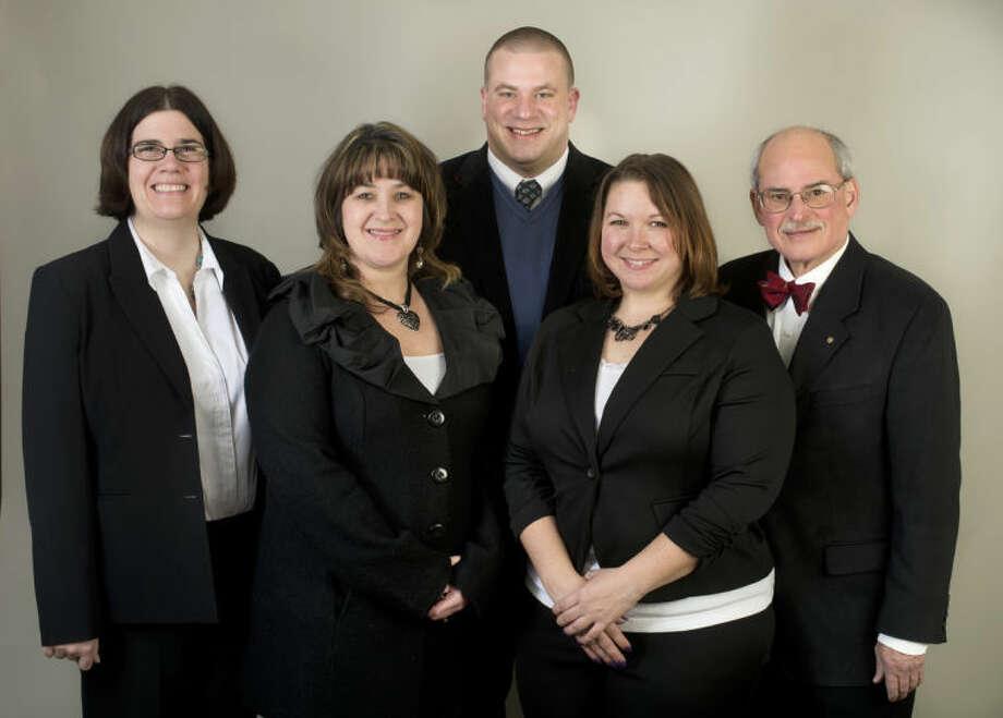 Photo providedFrom left are Monique Scott, Kim McMahan, Nate Payovich, Stephanie Wirtz and John Zimmerman.