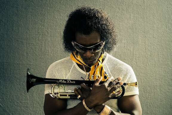 "Don Cheadle as jazz trumpeter Miles Davis in ""Miles Ahead,"" opening at Bay Area theaters on Friday, April 8. Photo by Brian Douglas. Courtesy of Sony Pictures Classics."