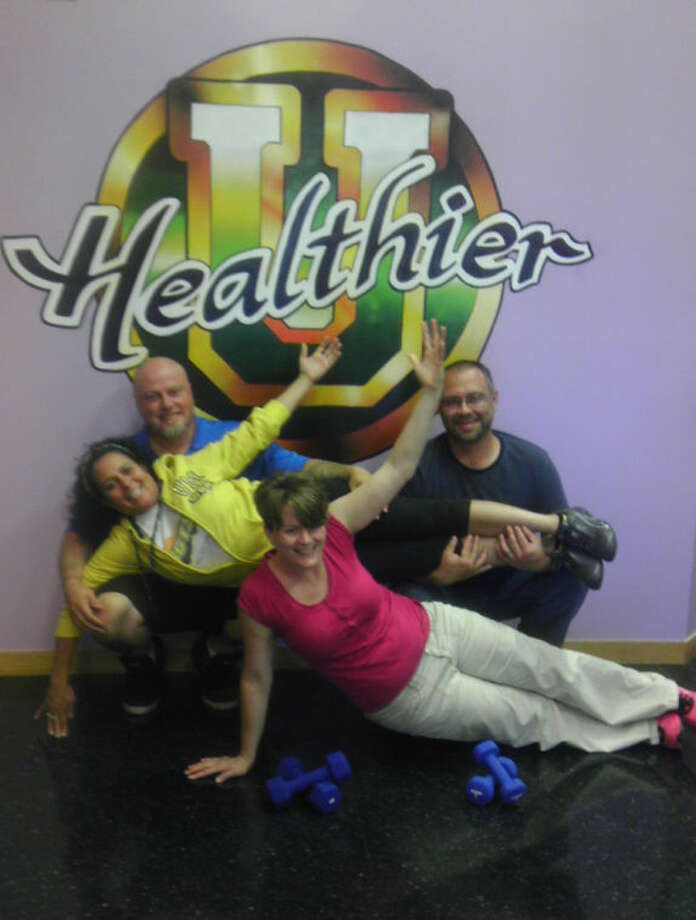 Photo providedHealthier U owners, from left: Christa Luke, Gragory Luke, Cherish Hess and Justin Hess.