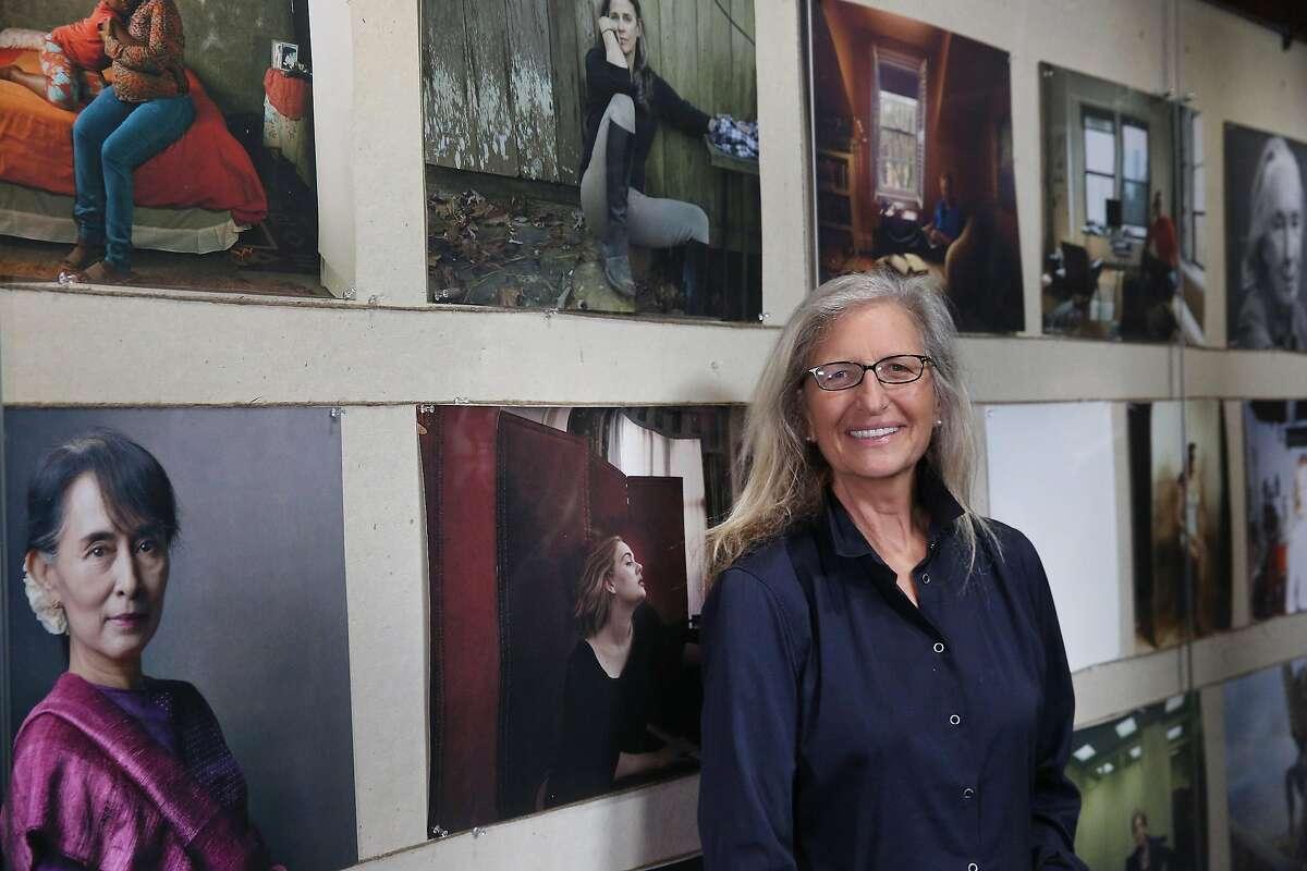 Annie Leibovitz at world premiere of
