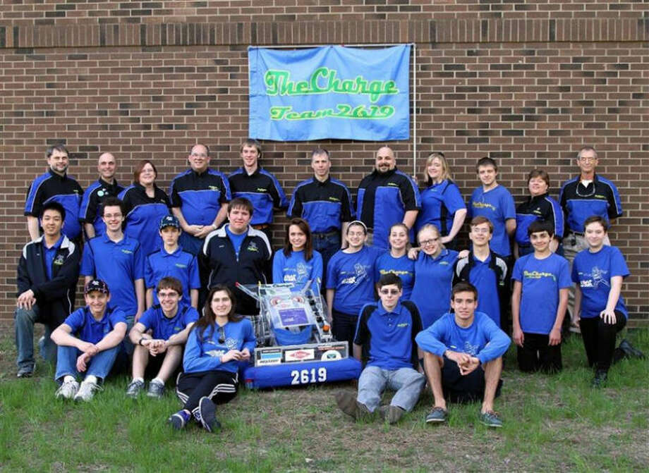 Photo providedThe Midland Public Schools FIRST Robotics Team 2619: The Charge will be featured at AAUW's open house.