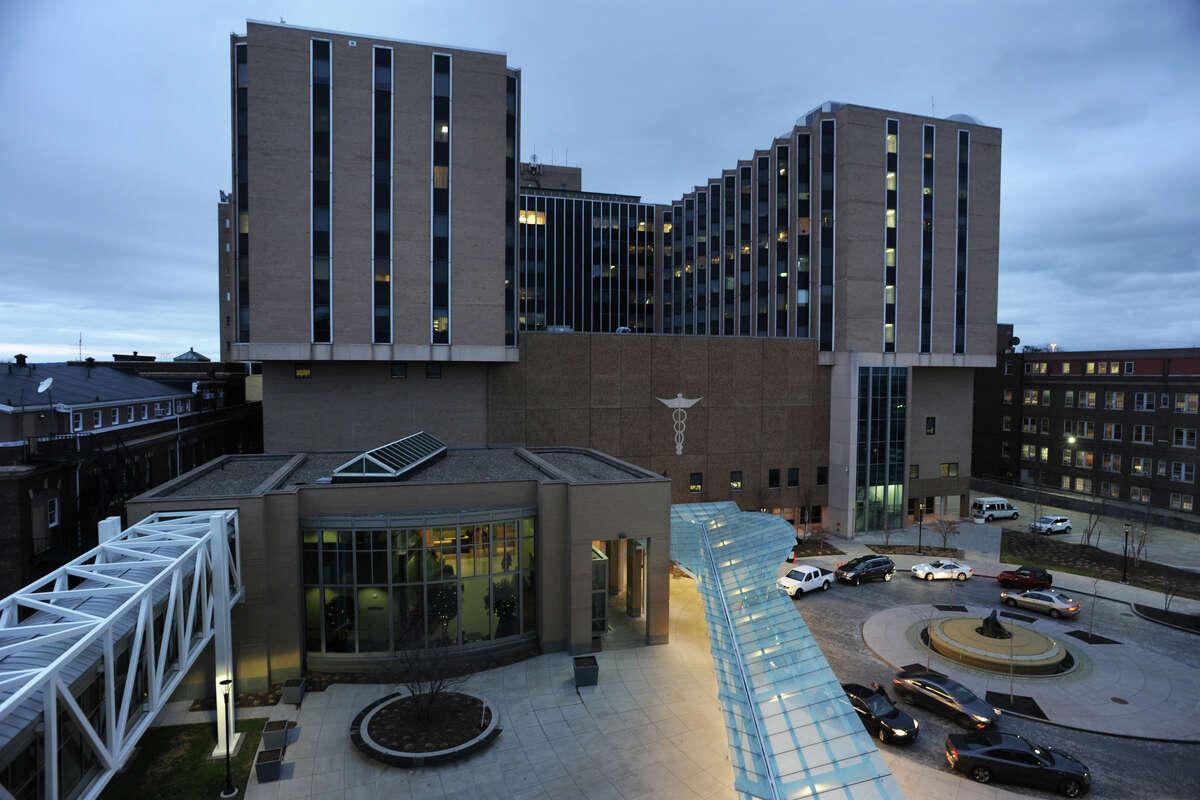 Bridgeport Hospital, in Bridgeport, Conn. Dec. 16, 2015.