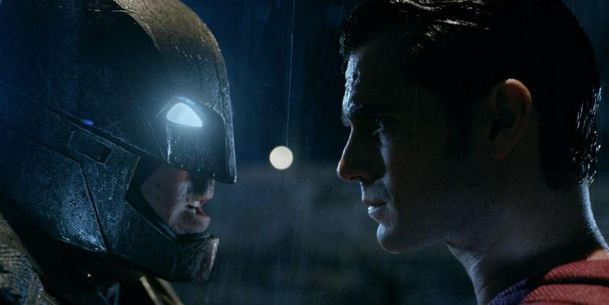 "Ben Affleck and Henry Cavill in ""Batman vs. Superman: Dawn of Justice."" (Warner Bros. Entertainment Inc.)"