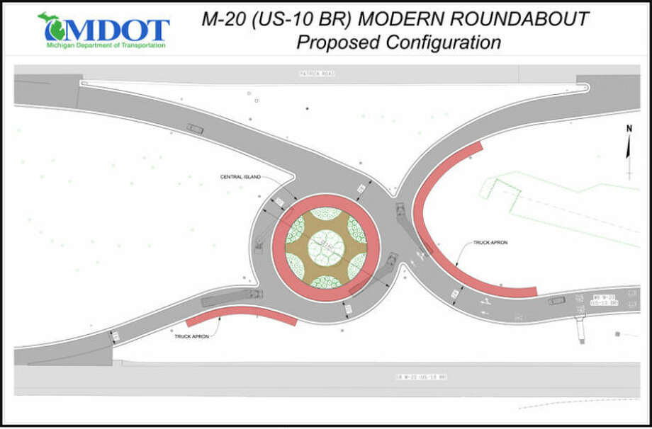 U.S. 10 BR roundabout could start in May