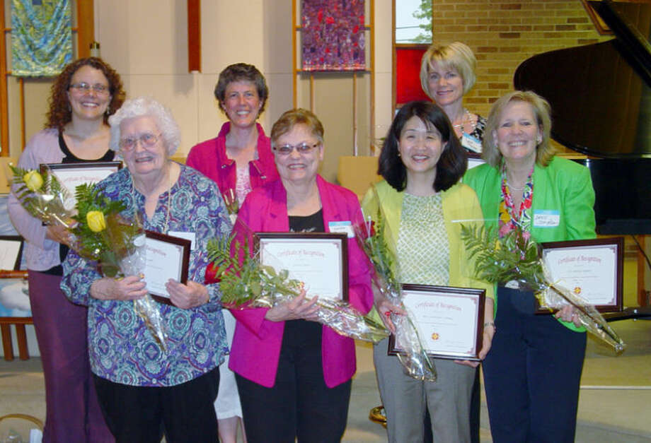 "Photo providedMidland Church Women United honored these seven women for living the organization's motto, ""Agreed to Differ, Resolved to Love, and United to Serve."""