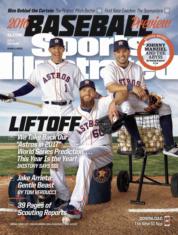 Sports Illustrated has predicted the Astros will win the 2016 World Series. Based on recent history, that may not be good news for Houston fans.Click through the gallery to revisit the magazine's off-line championship predictions of the past 16 years.