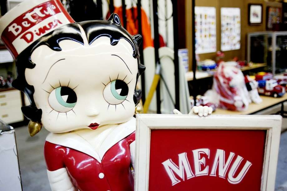 The family trust of Dirk B. Waltz recently donated a large collection of Betty Boop dolls and memorabilia to the Antique Toy and Firehouse Museum on Patterson Road in Bay City. Photo: THOMAS SIMONETTI | Tsimonetti@mdn.net