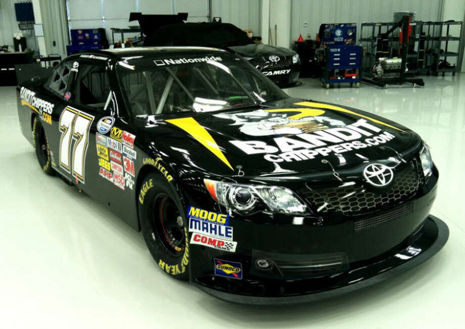 Photo providedBandit Industries, a mid-Michigan based manufacturer of wood chippers and other wood processing equipment, has signed a seven-race NASCAR sponsorship deal with Parker Kligerman, driving the number 77 Toyota for Kyle Busch Motorsports in the NASCAR Nationwide Series.