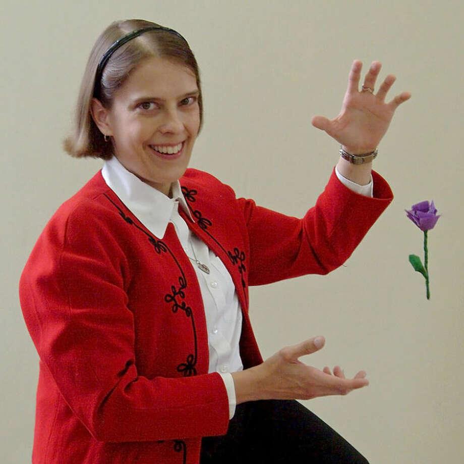 Magician Carrie Rostollan.