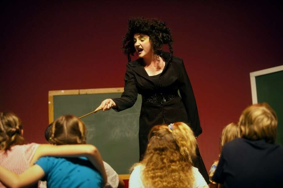 "Allie Williams plays Viola Swamp in ""Miss Nelson is Missing."""