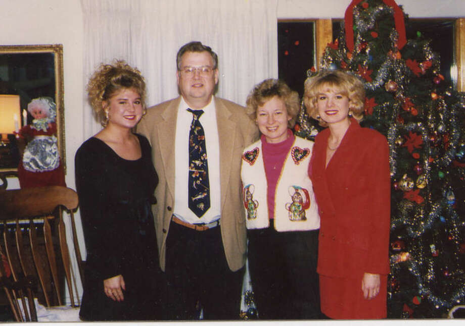 Julianne, Bob, Connie and Melissa pose by the family Christmas tree. A closely knit family, the loss of Melissa in 2010 devastated Bob and Connie. Melissa's daughters, Faith and Haley, spend a lot of time with Bob and Connie, time they cherish greatly.