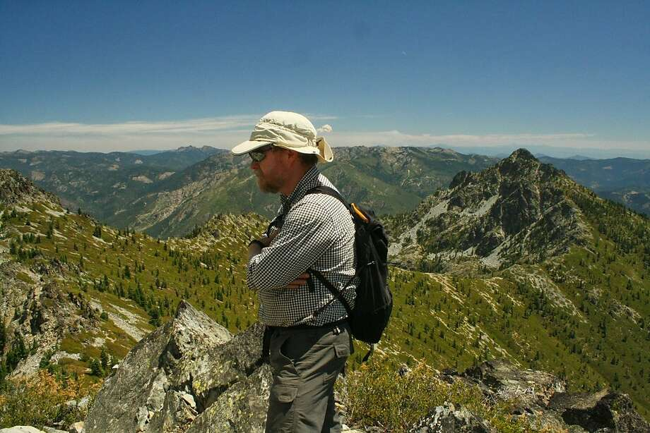 Steve Morris on Billy's Peak, in the Trinity Alps, shortly before he went missing on a hike there. Photo: Photo Courtesy Carrie Morris