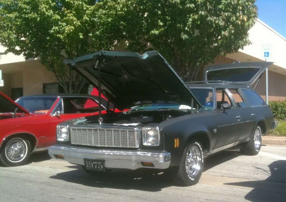 Photo providedDavid Weaver of Traverse City sold and later bought back the 1975 Chevelle Malibu Classic station wagon that originally belonged to his parents. The wagon was in the downtown Midland Cruise 'n Car Show last year and again this past Sept. 16-17.