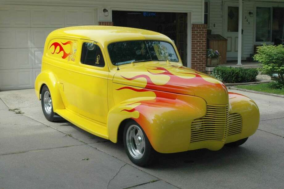 Photo providedTweety — a yellow 1940 Chevrolet Sedan Delivery — had some modifications when Midlander Rihcard Beehr bought it in 1996, and Beehr gave the vehicle a makeover.