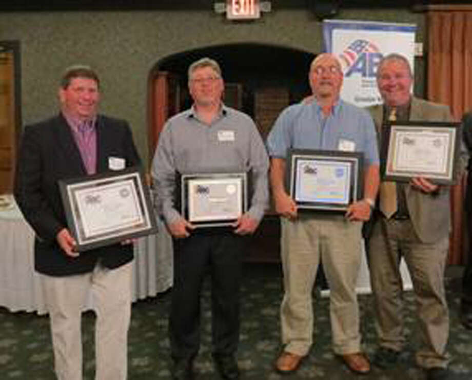 Photo providedDiamond STEP Award winners, from left, are Allen Kennedy, Bay Aggregate; Pete Crawford, Alloy Construction Co.; Chris Evans, G.E. Insulation; and Paul Crivac, Three Rivers Corp.