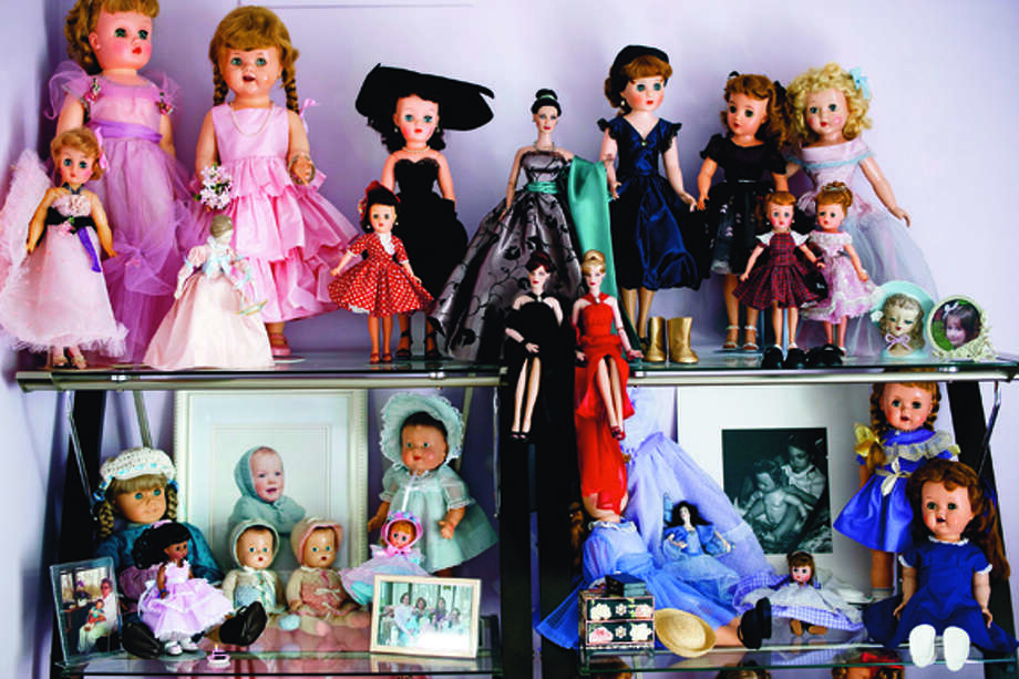THOMAS SIMONETTI | tsimonetti@mdn.net Jennifer Schultz' doll room features many dolls from the 1950s. Photo: Thomas Simonetti / © Thomas Simonetti Midland Daily News