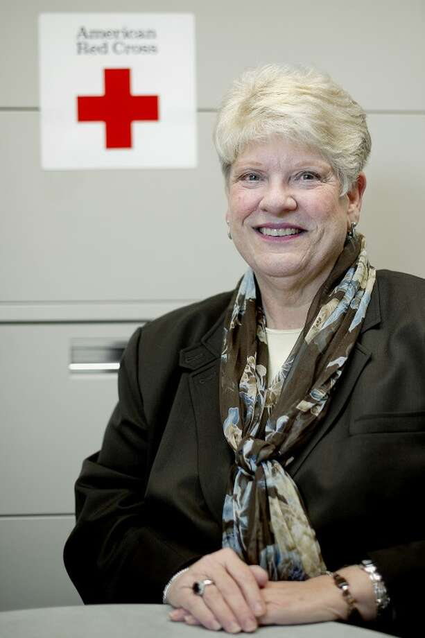 NICK KING | nking@mdn.netJoy Buchanan is the new executive director of the American Red Cross Great Lakes Bay Chapter. Photo: Nick King/Midland  Daily News
