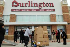 Burlington announced plans to open a store in Sugar Land next year. Merchandise was donated to a charitable group as  part of the Burlington Gives Back program at the Copperfield grand opening in late 2014.