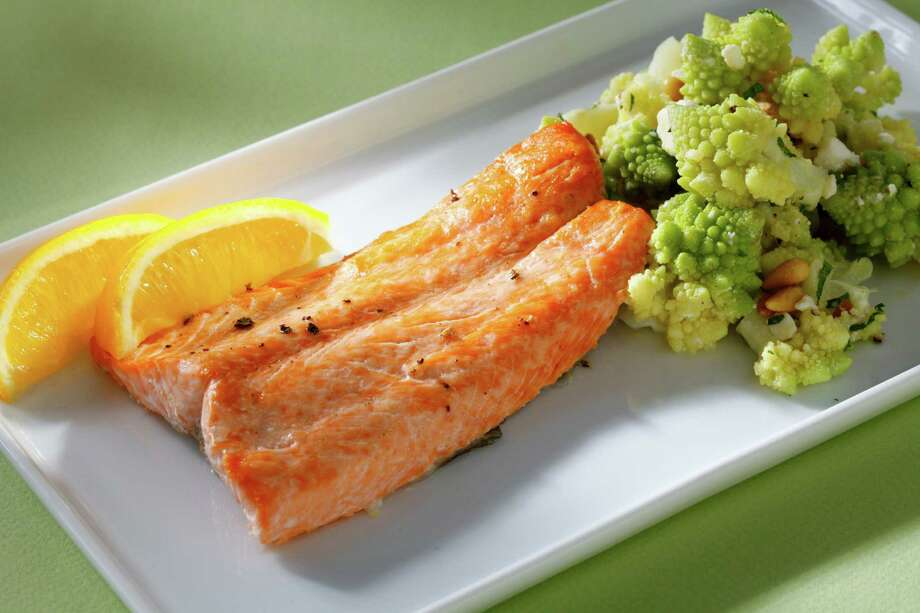Trout with warm Romanesco Salad Photo: Craig Lee /Special To The Chronicle / ONLINE_YES