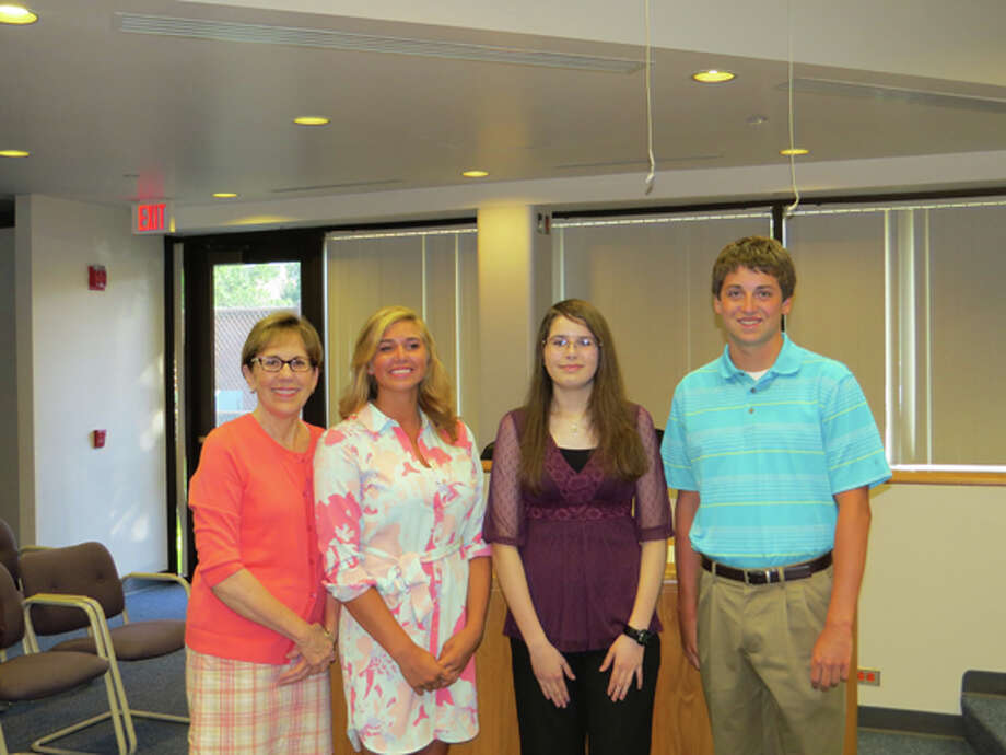 Mayor Maureen Donker, Scout Parsch, Cara Mitrano and Nick Smith. Photo provided.