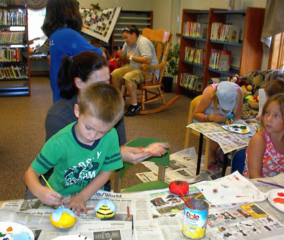 Photo providedYouths participate in the Coleman Area Library summer reading program.