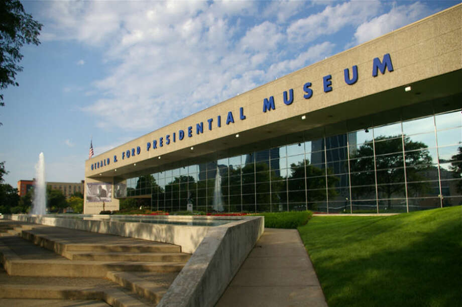 The Ford Museum in Grand Rapids.