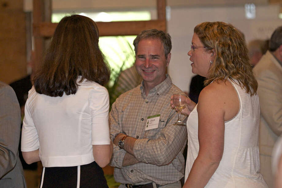 Photo providedChuck Martin, a Little Forks Conservancy board member, enjoys the evening with guests.
