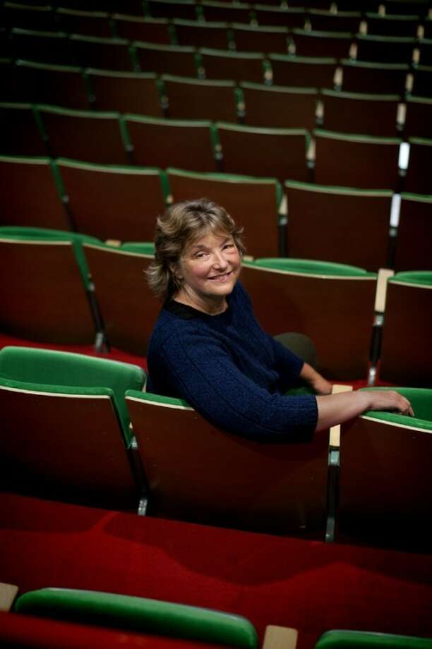 Nancy Leppek received Center Stage Theatre's 2011-2012 Wee Kinderspiel Award for dedication and outstanding contribution to children's theater. Photo: Nick King/Midland  Daily News