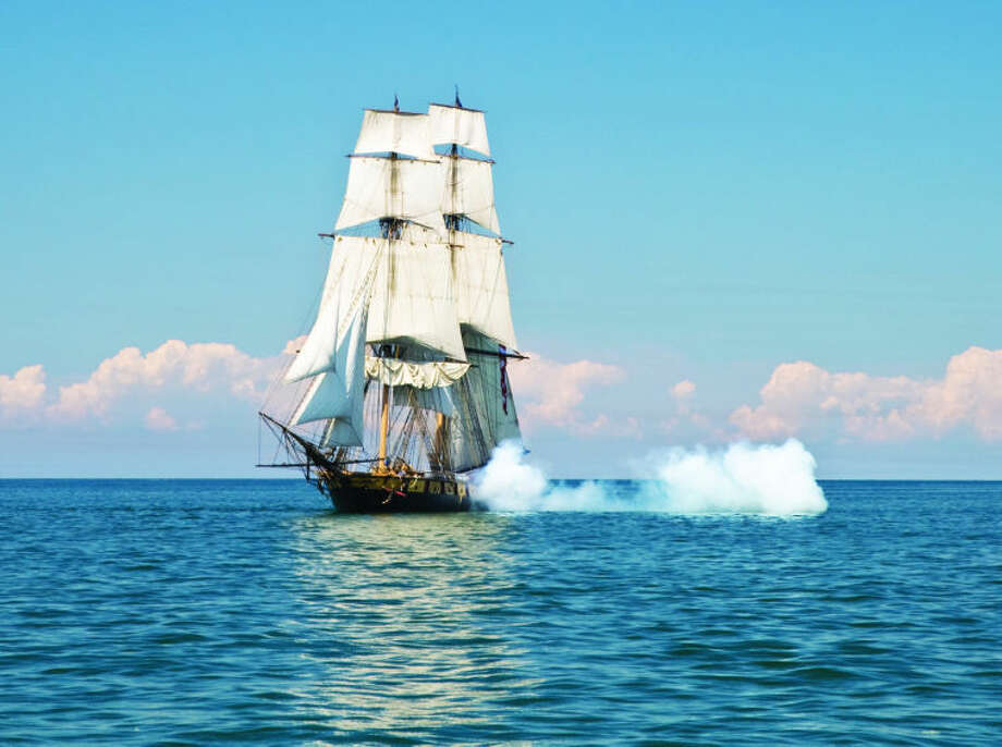 Flagship Niagara, which will be at this year's Tall Ship celebration, is one of two ships remaining from the War of 1812. Photo provided. Photo: Photo Provided.