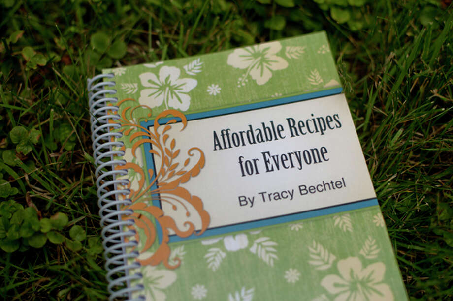 "Tracy Bechtel, of Coleman, wrote this cookbook titled ""Affordable Recipes for Everyone"" that features her food creations made from pantry ingredients. Photo: Nick King/Midland  Daily News / Midland Daily News"