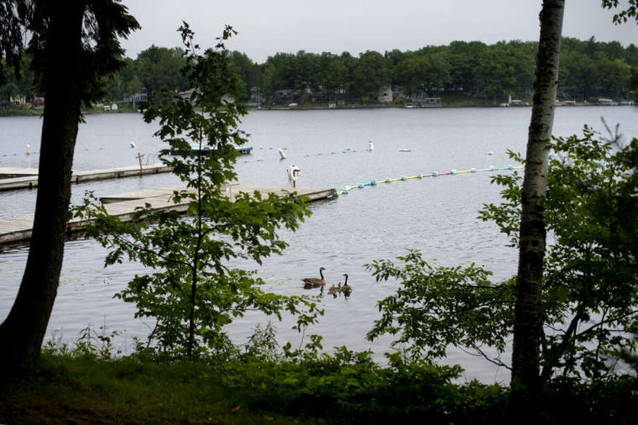 NICK KING | nking@mdn.netA view of Crooked Lake from Camp Neyati. Photo: Nick King/Midland  Daily News