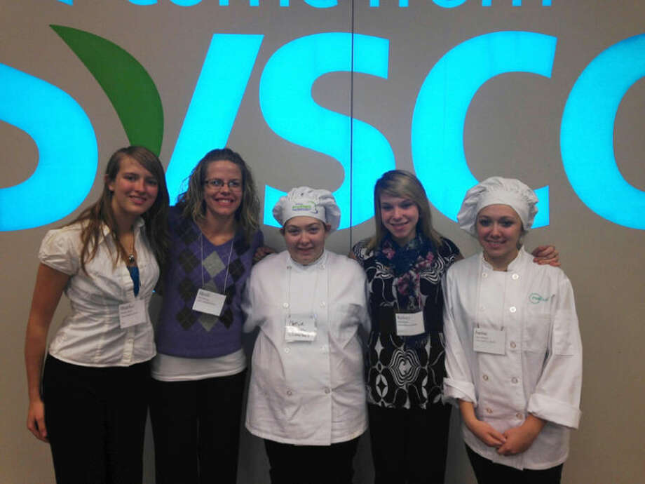 Photo providedPictured, from left, are Heather Baker, Culinary Arts Instructor Heidi Rocha, Chelsie Eichorn, Kelsey Kula and Jaime Phillips.