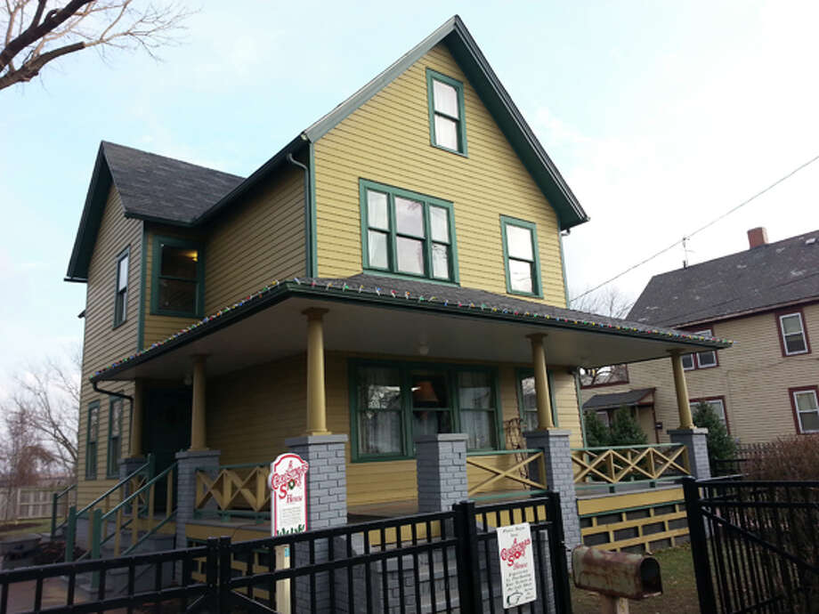 A Christmas Story House and Museum has been created to celebrate the Cleveland, Ohio location where exterior shots were filmed in 1983. Photo by Matthew Woods