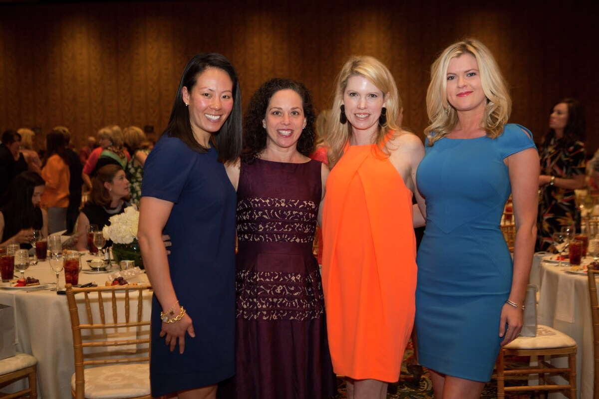 (left to right) Ting Bresnahan, Viviana Denechaud, Courtney Toomey and Ashlee Love at The 34th Annual Houston Chronicle Best Dressed Luncheon, Tuesday, March 22, 2016, in Houston.
