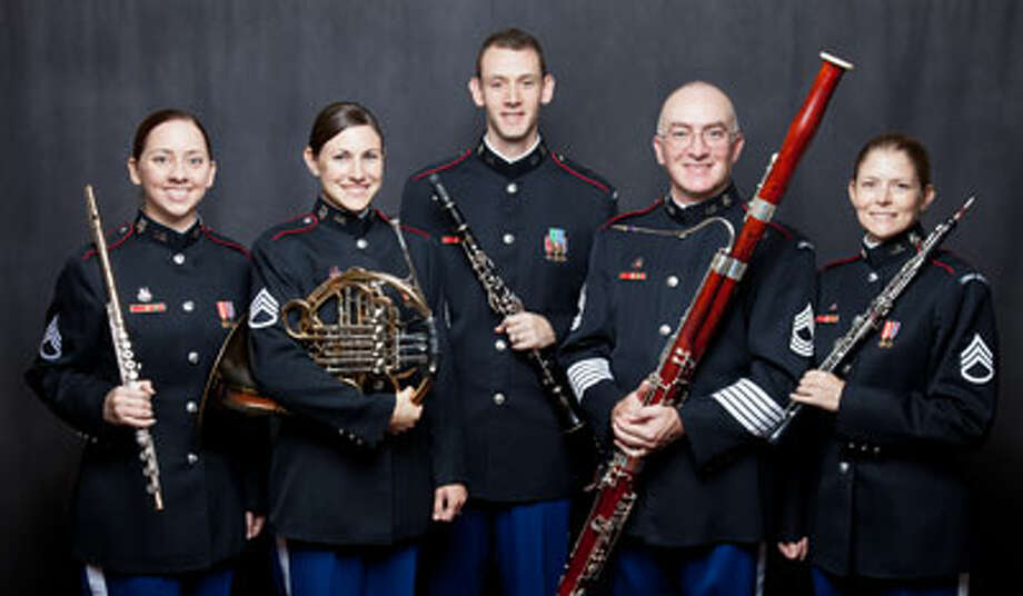 The West Point Woodwind Quintet will perform April 10 at Greenwich Library. Photo: / Contributed Photo