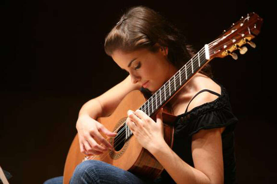 Classical guitarist Ana Vidovic