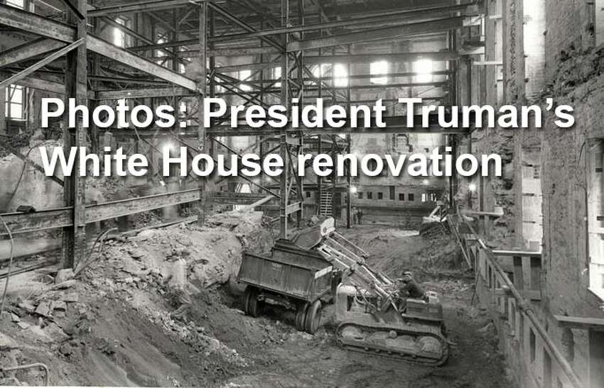 By the time Harry S. Truman began his second presidential term, the 150-year-old building was a serious fire hazard in danger of collapsing. So in 1949, Congress authorized a $5.4 million to renovate the interior while preserving the historic exterior facade.