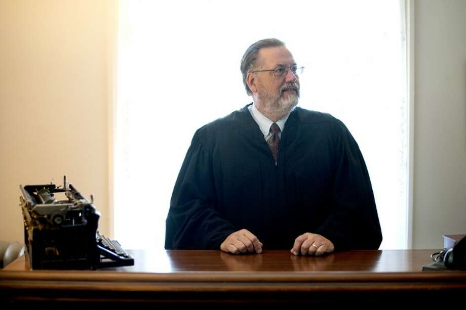 THOMAS SIMONETTI | tsimonetti@mdn.netMidland County District Court Judge John H. Hart says he has noticed the big change in the way our country treats members of the U.S. Armed Forces today compared to when he returned from the Vietnam War. Photo: Thomas Simonetti