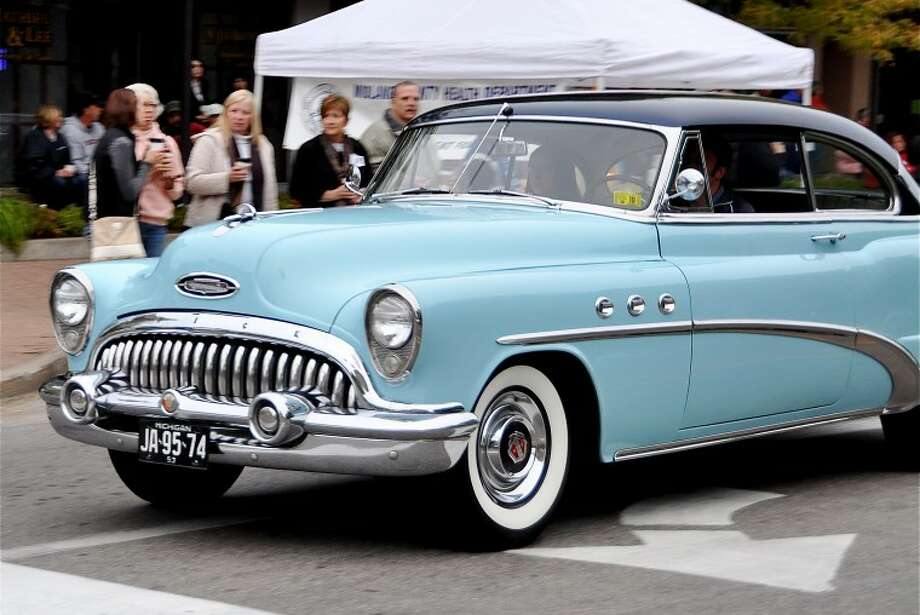 Rare Kissel Other Vehicles Honored At Downtown Midland Cruise N - Toth buick car show