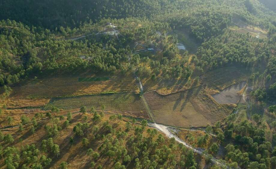 Photo provided Aerial view of the site.