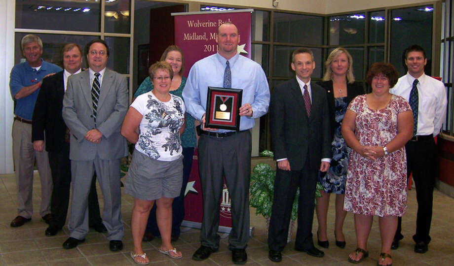 Photo providedTom Johnson and Wolverine Bank were honored recently by Special Olympics Midland.