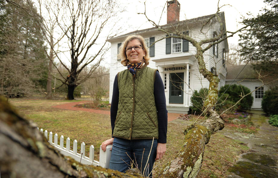 Since 1989 Wendy Chaix and her husband Laurent have owned Twin Oaks, a former 1790 farm, on Valley Road in Easton, Conn. that was once the long time home of pioneering investigative journalist Ida Tarbell. Photo: Brian A. Pounds / Hearst Connecticut Media / Connecticut Post