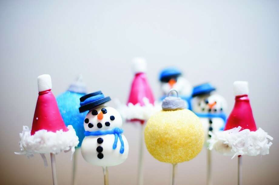 THOMASSIMONETTI | tsimonetti@mdn.netThe finished product: eight cake pops from Connie's Cakes in Midland.