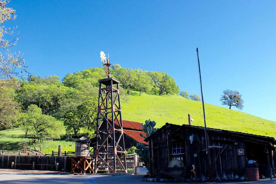 Old Borges Ranch in the foothills of Mount Diablo was established in 1899, and several of the original buildings remain. Photo: Stephanie Wright Hession
