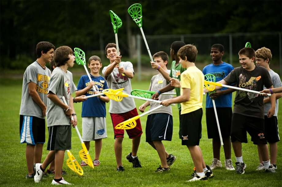 NEIL BLAKE | photo@mdn.netLacrosse players get ready to play at Northwood University.
