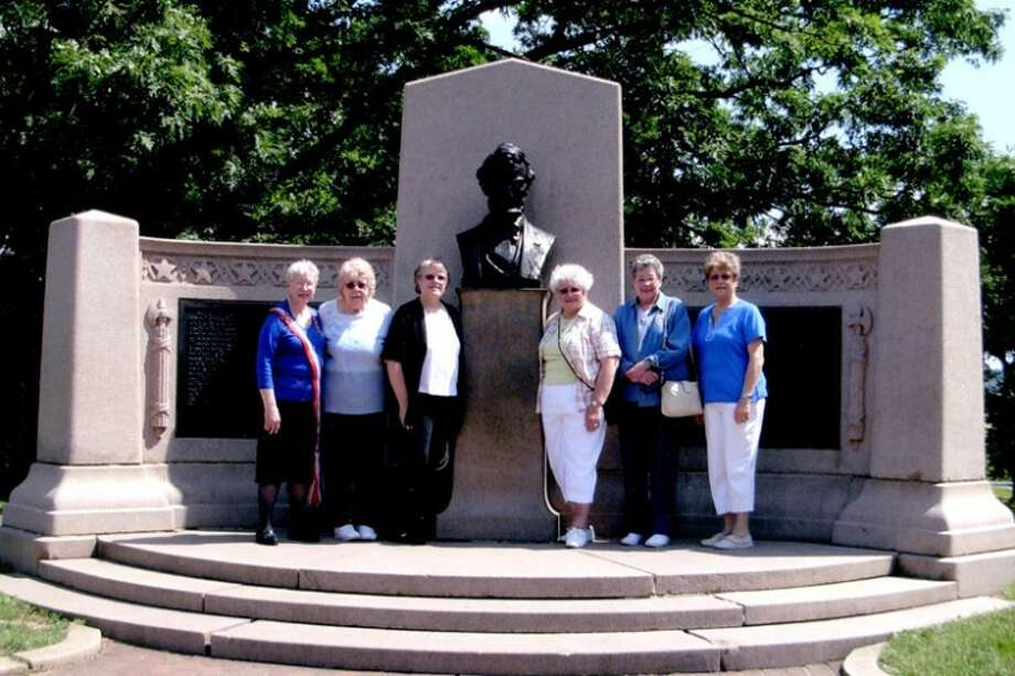 Photo providedSix members of the Wilbur Thomas Lanphierd Chapter of Midland were among the 122 people registered for the Centennial Congress of the National Society Daughters of the Union 1861 to 1865 at Gettysburg, Pa., June 7 to 9.