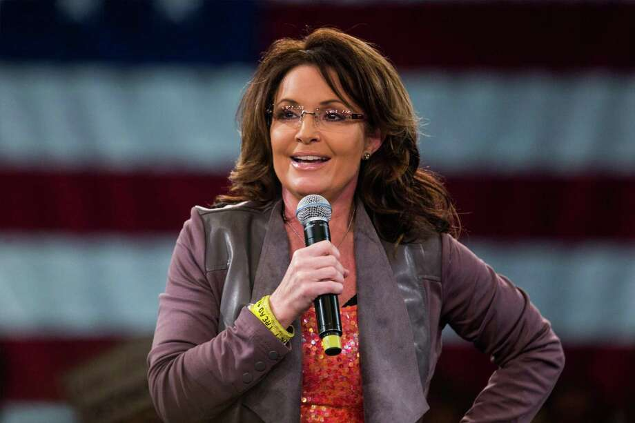 "Sarah Palin: She believes that human-caused global warming is the invention of ""fearmongers"" and ""people who do not believe in American exceptionalism."" 